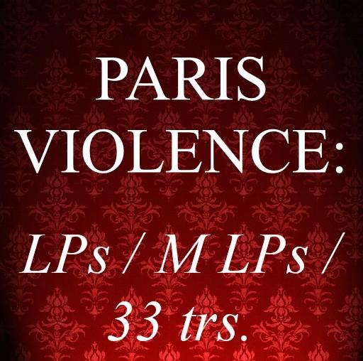Vinyles: LP / MLP / 33trs