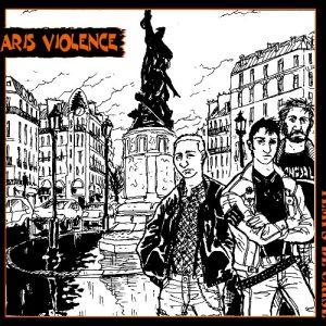 Paris Violence digipack