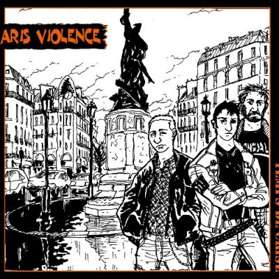 Paris Violence digipack