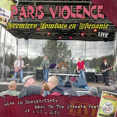 Paris Violence live